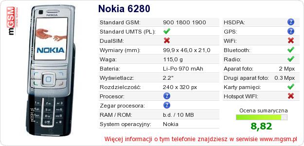 6280 nokia: