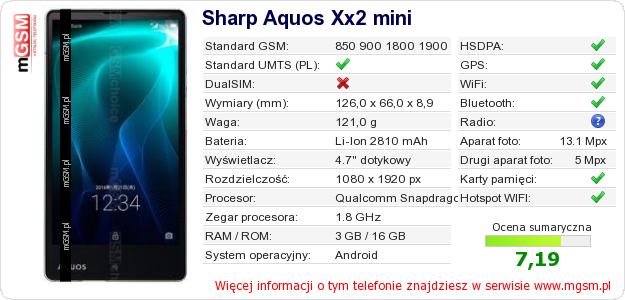 Sharp Aquos Xx2